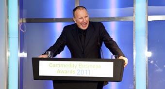 Simon Evans, Commodity Business Awards 2011