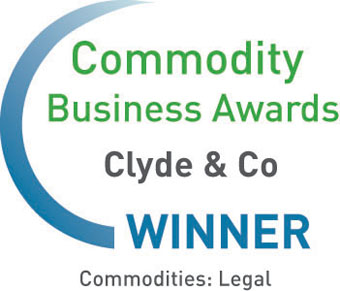 Clyde & Co, Commodity Business Awards 2012