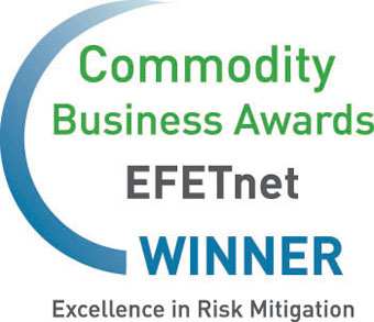 EFETnet, Commodity Business Awards 2012, Winner