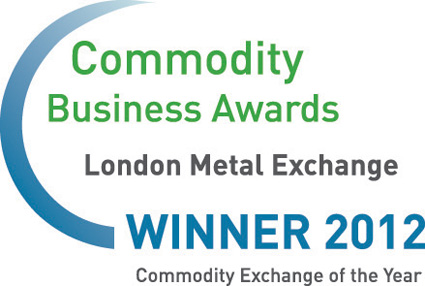London Metal Exchange, Commodity Business Awards 2012