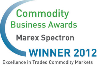 Marex Spectron, Commodity Business Awards 2012