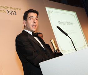 Morgan Stanley, Commodity Business Awards 2012 winner