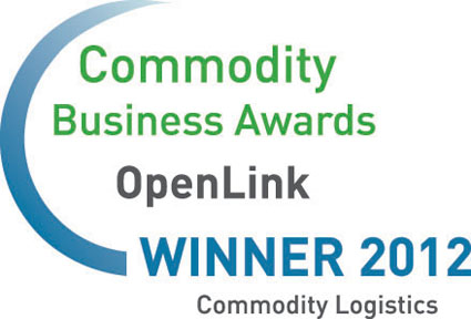 OpenLink, Commodity Business Awards winner 2012